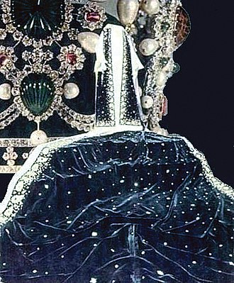 Iranian Crown Jewels - Image: Farah Cape