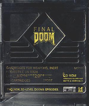 Final Doom - Image: Final Doom Coverart