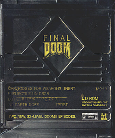 Picture of a game: Final Doom
