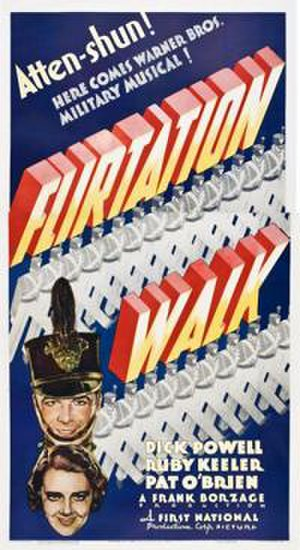 Flirtation Walk - Theatrical release poster