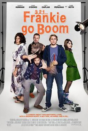 3,2,1... Frankie Go Boom - Film poster