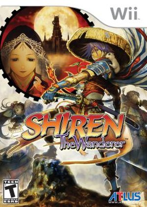 Shiren the Wanderer (2008 video game) - North American cover art