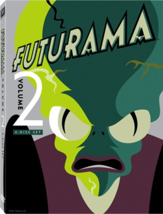 Futurama (season 2) - DVD cover for the 2012 re-release of Volume Two