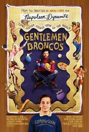 Gentlemen Broncos - Promotional poster