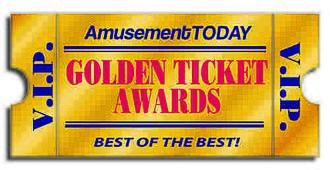 Golden Ticket Award for Best New Ride - Image: Golden Ticket Awards