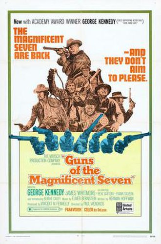 Guns of the Magnificent Seven - Original film poster
