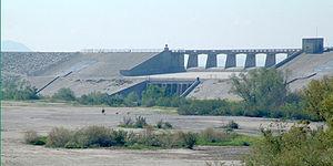 Hansen Dam - Image: Hansen dam 01