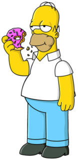Homer Simpson Fictional character from The Simpsons franchise
