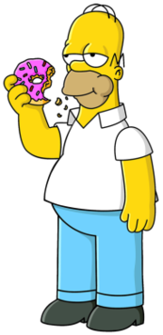 Homer Simpson Animated Television Series