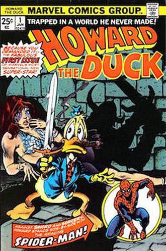 Howard the Duck - Image: Howard The Duck 1