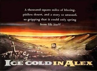 <i>Ice Cold in Alex</i> 1958 film by J. Lee Thompson