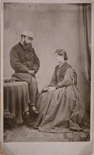 John Lockwood Kipling - John Lockwood Kipling and Alice Kipling in India in 1870