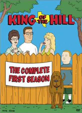 King of the Hill (season 1) - DVD cover