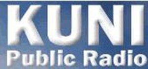 KUNI (FM) - Image: KUNI (FM) logo