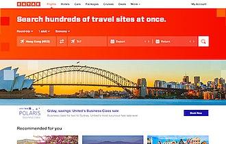 Kayak.com - Image: Kayak.com screenshot