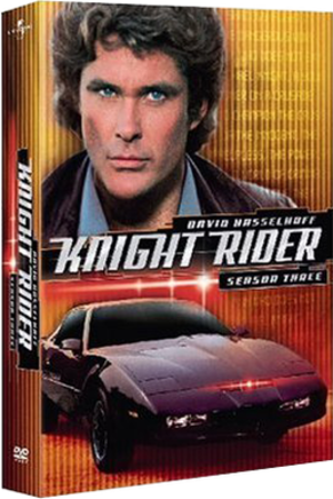 Knight Rider (season 3) - Image: Knight Rider season 3 DVD