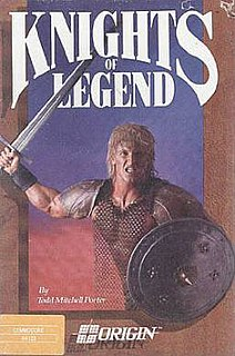 <i>Knights of Legend</i> 1989 video game