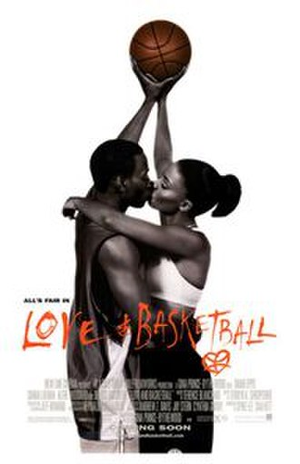 Love & Basketball - Theatrical release poster