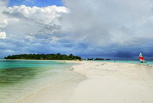 Kaafu Atoll - Image: Lankanfushi from Lankanfinolhu Maldives
