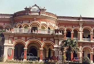 Loreto Convent Lucknow - Image: Lclko 3