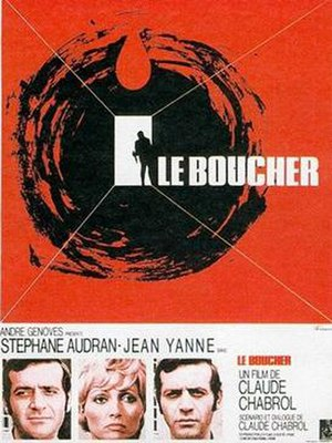 Le Boucher - French film poster