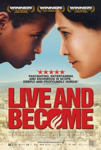 Live and Become - Theatrical poster