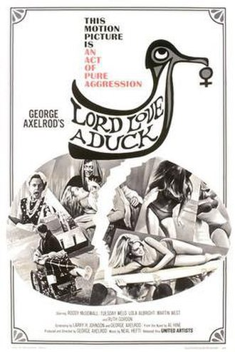 Lord Love a Duck - Theatrical poster