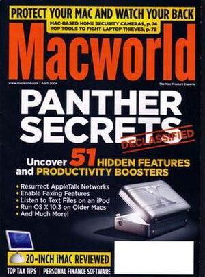Macworld - The April 2004 issue of Macworld