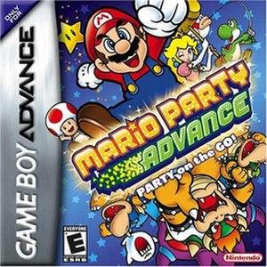 Mario Party Advance - Image: Mario Party Advance Box
