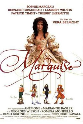 Marquise (film) - Theatrical release poster