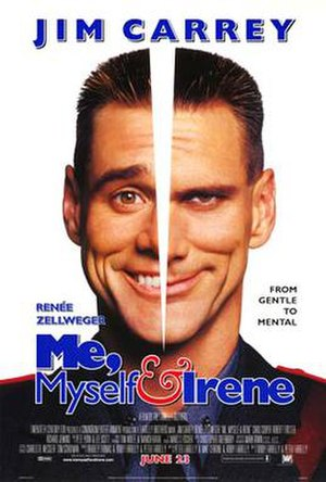 Me, Myself & Irene - Theatrical release poster