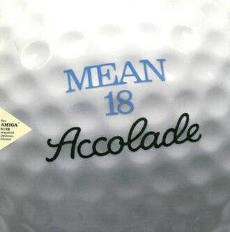 Mean 18 - Amiga cover art