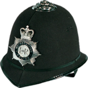 Custodian helmet - The current custodian helmet used by the Metropolitan Police Service in London