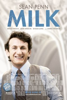 <i>Milk</i> (film) 2008 film by Gus Van Sant