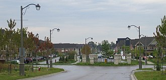 Ringwood, Ontario - Millard St., looking east, Hamlet of Ringwood (Whitchurch-Stouffville), ON, 2010