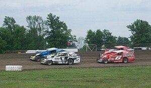 Brockville Ontario Speedway - Image: Modified Heat