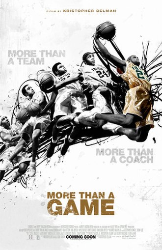 More than a Game - Theatrical release poster
