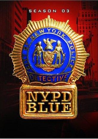 NYPD Blue (season 3) - Season 3 U.S. DVD Cover