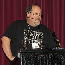 Phelps at The Imagine No Religion conference in Kamloops, British Columbia on May 7, 2011