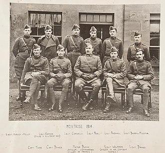 H.D. Harvey-Kelly - No2 Squadron RFC, Harvey-Kelly top left