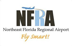 Northeast Florida Regional Airport - Image: Northwest Florida Regional Airport Logo