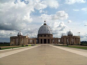 Yamoussoukro - Basilica of Our Lady of Peace