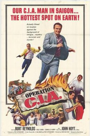 Operation C.I.A. - Original film poster