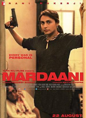 Mardaani - Image: Official Poster of Mardaani