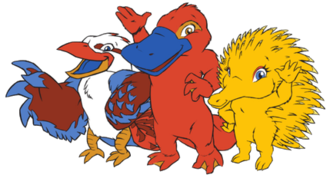 Olly, Syd, Millie and Lizzie - The 2000 Summer Olympic mascots