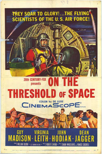 On the Threshold of Space - Theatrical release poster