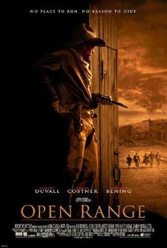 Open Range (2003 film) - Theatrical release poster