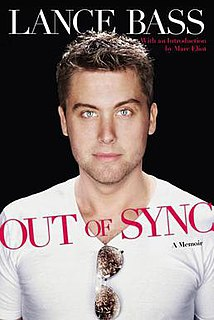 <i>Out of Sync</i> book by Lance Bass