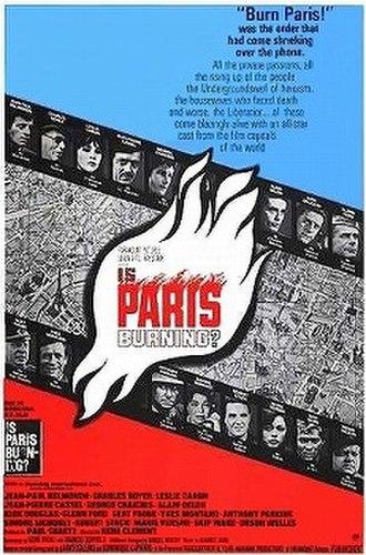 Is Paris Burning? (film) - Theatrical poster