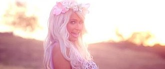 Come Alive (Paris Hilton song) - Hilton during the music video.